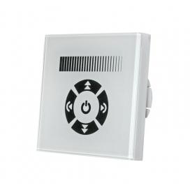 Ψηφιακό Dimmer Χειροκίνητο Αφής Χωνευτό Λευκό για λάμπες Led 230V (30-32200)