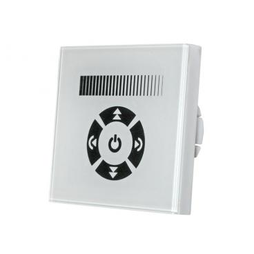 Dimmer Χειροκίνητο Αφής Χωνευτό Λευκό για λάμπες Led 230V (30-32200)