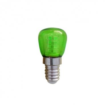 Led Λαμπάκι Νυκτός 1W E14 Πράσινο (ST26G)