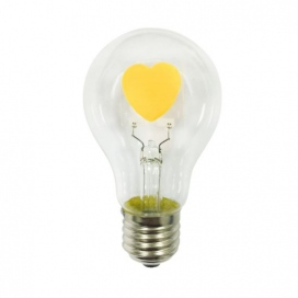 Λάμπα Cog Led Heart 2W E27 2700K (VINTAHEART)