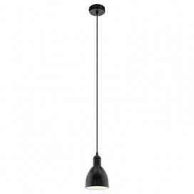 Eglo Priddy Industrial Μονόφωτο Φωτιστικό Μαύρο (49464)