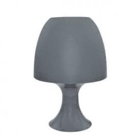 Aca Επιτραπέζιο Φωτιστικό Σκούρο Γκρι (1024SDGY)
