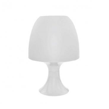 Aca Επιτραπέζιο Φωτιστικό Λευκό (1024SWH)
