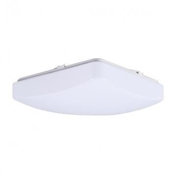 Aca Led Πλαφονιέρα 12W Λευκή (AV91240S)