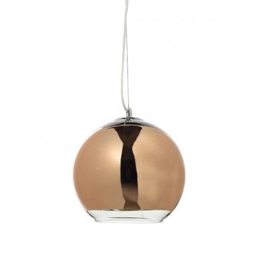 Aca Φωτιστικό Οροφής Ø250 Χρυσό - Χάλκινο (OYD6042BCG)
