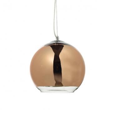 Aca Φωτιστικό Οροφής Ø300 Χρυσό - Χάλκινο (OYD6042ACG)