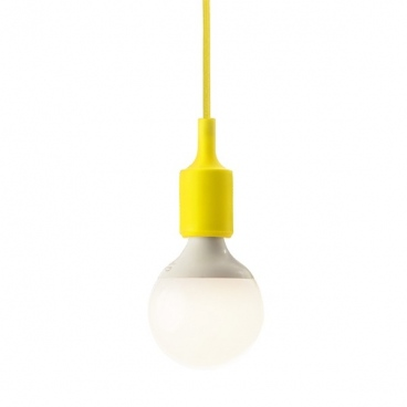 Aca Ανάρτηση Σιλικόνης Κίτρινη (SUTP102Y)