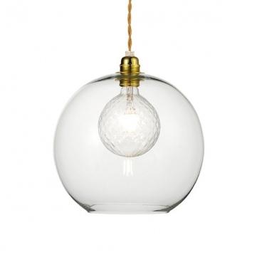 Aca Κρεμαστό Φωτιστικό Οροφής Ø30 (V3643330CL)