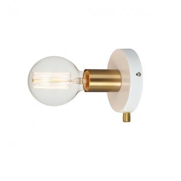 Aca Επιτοίχιο Φωτιστικό Λευκό (V36382WP)