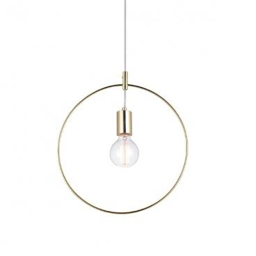 Aca Κρεμαστό Φωτιστικό Οροφής Ορειχάλκινο (V35181BS)