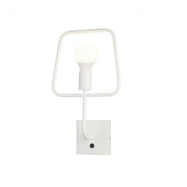 Aca Επιτοίχιο Φωτιστικό Λευκό (V362491WW)