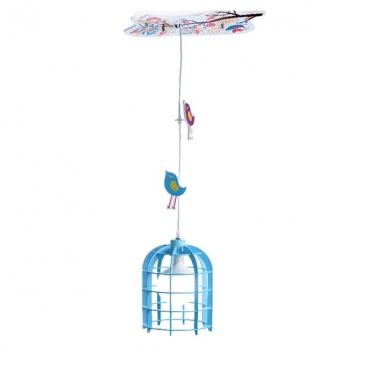 Aca Παιδικό Φωτιστικό Οροφής Μπλε(MD150411B)
