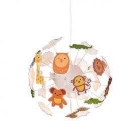 Aca Παιδικό Φωτιστικό Οροφής(MD160224ZOO)