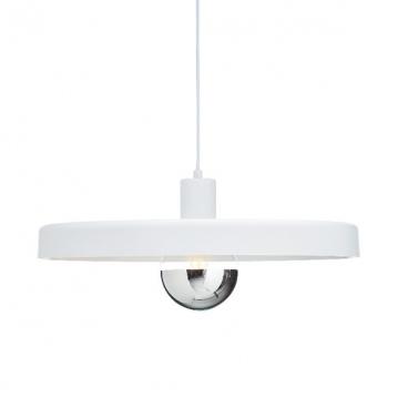Aca Κρεμαστό Φωτιστικό Οροφής Ø50 Λευκό(OD5392MWH)