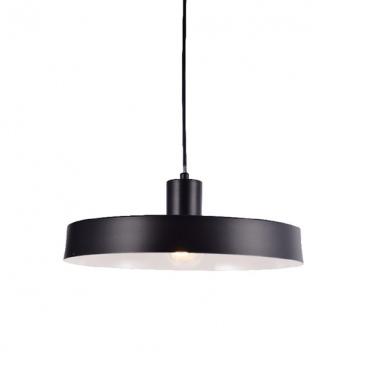 Aca Κρεμαστό Φωτιστικό Οροφής Ø36 Μαύρο(OD5392SBK)