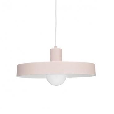 Aca Κρεμαστό Φωτιστικό Οροφής Ø36 Ροζ(OD5392SPP)