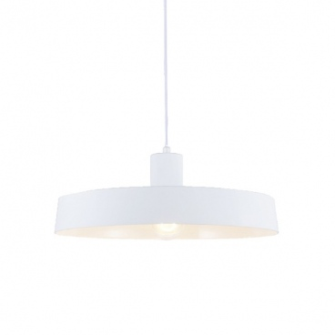 Aca Κρεμαστό Φωτιστικό Οροφής Ø36 Λευκό(OD5392SWH)
