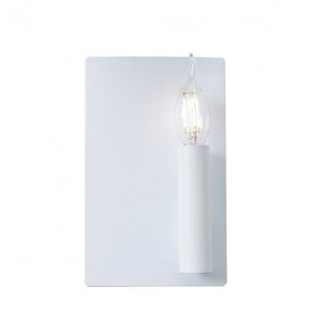 Aca Επιτοίχιο Φωτιστικό Λευκό(MXB150021A)