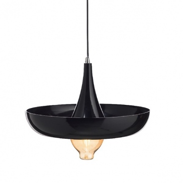 Aca Κρεμαστό Φωτιστικό Οροφής Μαύρο(OD5435BK)