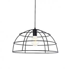 Aca Κρεμαστό Φωτιστικό Οροφής Ø40 Μαύρο(OD543640)