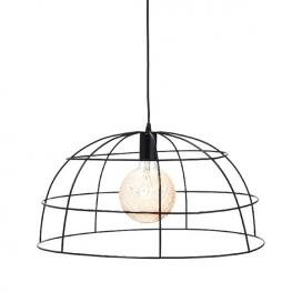 Aca Κρεμαστό Φωτιστικό Οροφής Ø50 Μαύρο(OD543650)