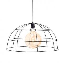 Aca Κρεμαστό Φωτιστικό Οροφής Ø60 Μαύρο(OD543660)