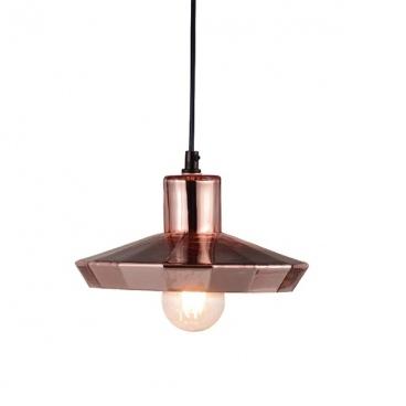Aca Φωτιστικό Οροφής Χάλκινο(KS174522PC)