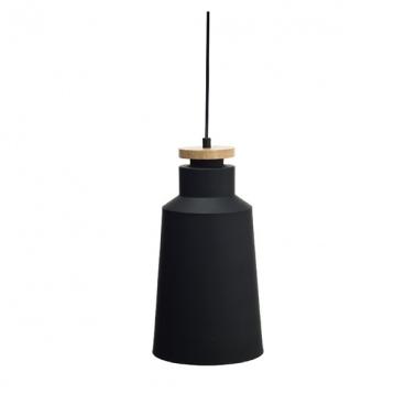 Aca Φωτιστικό Οροφής Μαύρο(KS1987PBW)