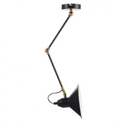 Aca Vintage Φωτιστικό Οροφής - Τοίχου Μαύρο (KS19911WB)