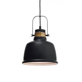 Aca Φωτιστικό Οροφής Ø22.5 Μαύρο(KS212622P)