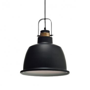 Aca Φωτιστικό Οροφής Ø35 Μαύρο(KS212635P)