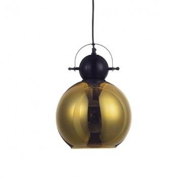 Aca Φωτιστικό Οροφής Μαύρο Ορειχάλκινο(KS081225BB)