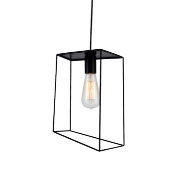 Aca Φωτιστικό Οροφής Μαύρο(OD61022PB)