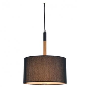 Aca Φωτιστικό Οροφής Μαύρο(OD650825PBK)