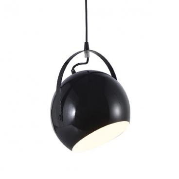 Aca Φωτιστικό Οροφής Μαύρο(OD8067BK)