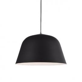 Aca Φωτιστικό Οροφής Μαύρο(OD8072BK)