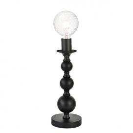 Aca Επιτραπέζιο Φωτιστικό Μαύρο(DLA11851TB)
