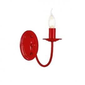 Aca Επιτοίχιο Μονόφωτο Φωτιστικό Κόκκινο(DL9311WR)