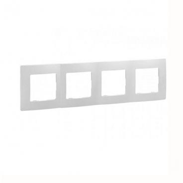 Legrand Niloe Πλαίσιο 4 Θέσεων Λευκή (665004)