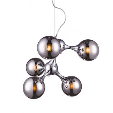 Aca Πεντάφωτο Φωτιστικό Οροφής (OYD60705CH)