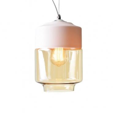 Aca Vintage Φωτιστικό Οροφής Λευκό Ø18 (OYD10143B1WHAM)