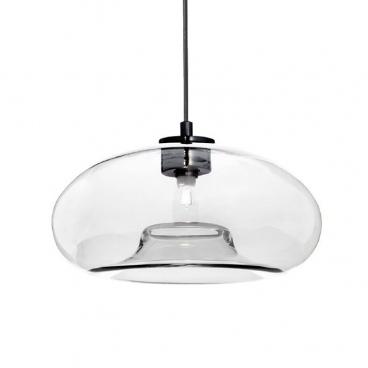 Aca Vintage Φωτιστικό Οροφής Διάφανο (V292801PCL)