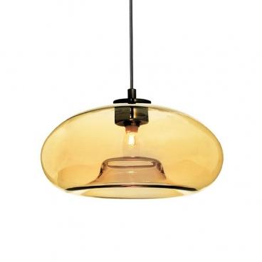 Aca Vintage Φωτιστικό Οροφής Κεχριμπάρι (V292801PAM)