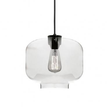 Aca Vintage Φωτιστικό Οροφής Διάφανο (V292831PCL)