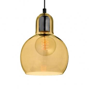 Aca Vintage Φωτιστικό Οροφής Κεχριμπάρι (V292851PAM)