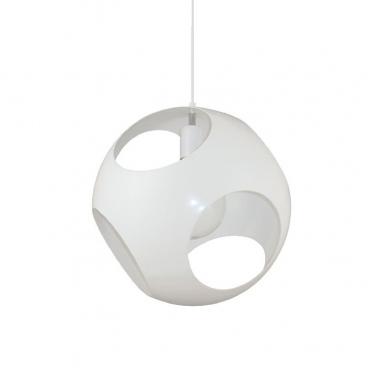 Aca Μονόφωτο Κρεμαστό Φωτιστικό Λευκό (V287391P35WH)