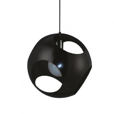 Aca Μονόφωτο Κρεμαστό Φωτιστικό Μαύρο (V287391P35BK)