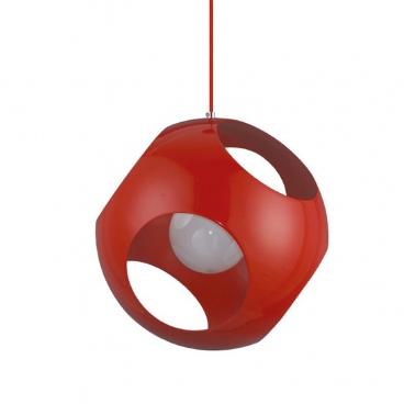 Aca Μονόφωτο Κρεμαστό Φωτιστικό Κόκκινο (V287391P35RD)