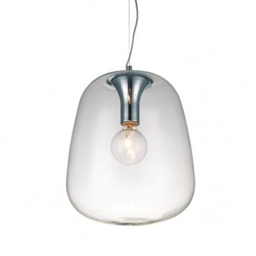 Aca Μονόφωτο Κρεμαστό Φωτιστικό Διαφανές (OYD10063BSP1)