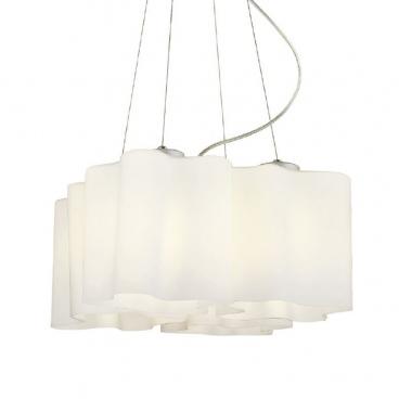 Aca Τετράφωτο Κρεμαστό Φωτιστικό Λευκό (W14794B)
